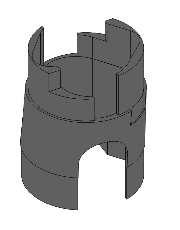 CYF-VH Distal Bending Section Connector