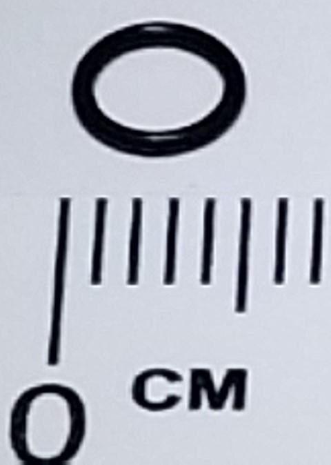 O-Ring - 3.6mm x 0.6mm (10/bag)